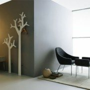 Tree Swedese hvit vegg liten og stor